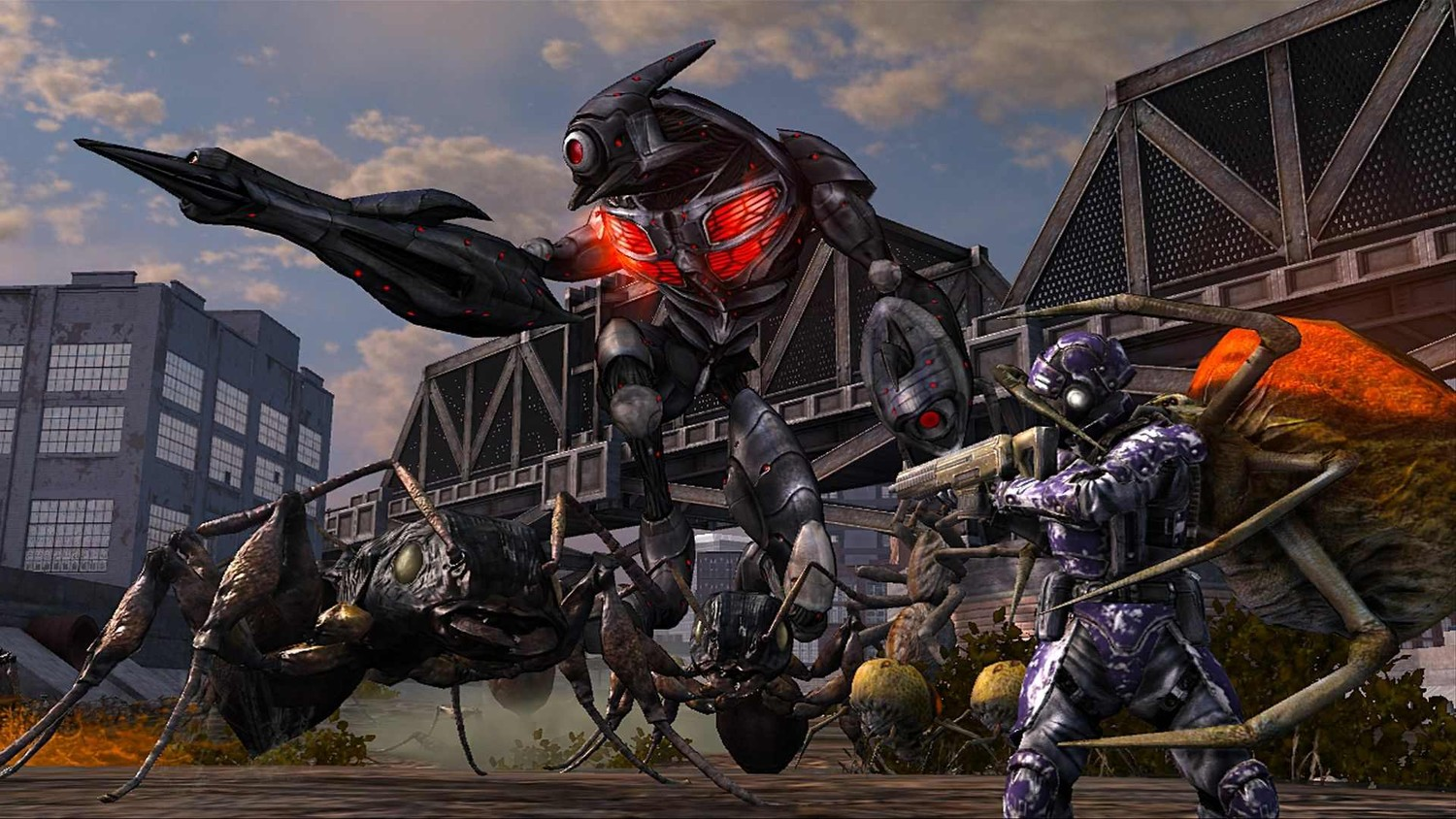 Earth Defense Force: Insect Armageddon - Скриншот 3