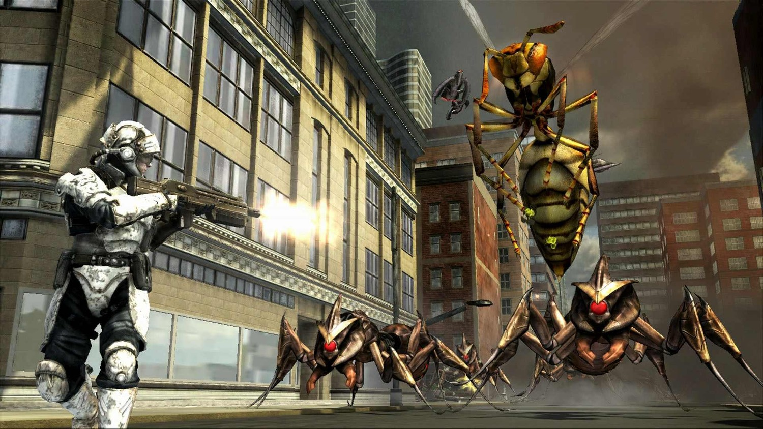 Earth Defense Force: Insect Armageddon - Скриншот 1