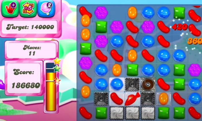 Candy Crush Saga - Скриншот 2