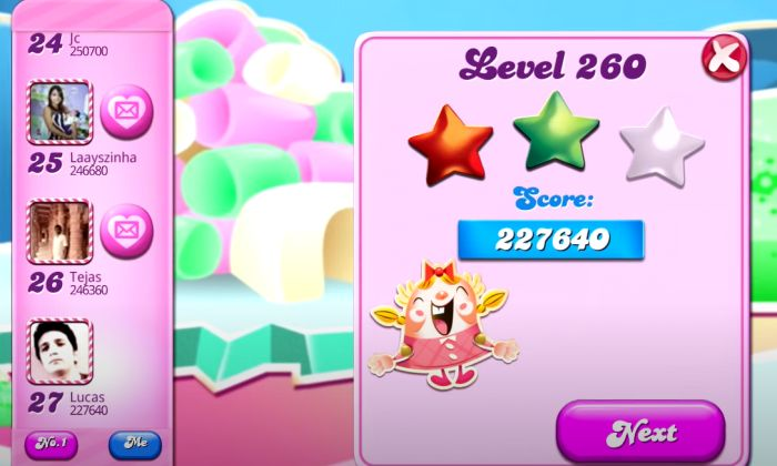Candy Crush Saga - Скриншот 3